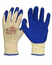 """Перчатки """"Хедмен"""" р.S,M,L,XL (хлопок +п/э с покрытием губчатый латекс,10-й класс вязки)"""