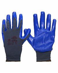 "Перчатки ""НейпНит"" р.S,M,L,XL (нейлон+нитрил синий,13-й класс вязки)"