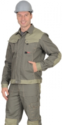 """Куртка """"ЧЕРВА"""" короткая, т.оливковый"""