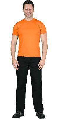 Футболка оранжевая плотность 160 г/кв.м.