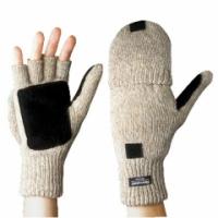 Перчатки шерстяные Варежки (шотландская шерсть) с утеплителем ТИНСУЛЕЙТ