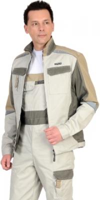 Куртка КАСПИЙ молочная с оливой