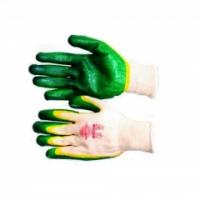 """Перчатки """"Дуолат"""" р. L,XL (хлопок+высококачественное двойное латексное покрытие)"""