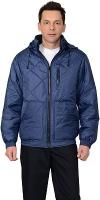"""Куртка """"Берн"""" т.синяя с капюшоном"""