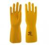 """Перчатки """"ЗЕФИР"""" L-F-13 (латекс, уникальный слой Sponge, толщ.0,68мм, дл.330мм) Manipula"""