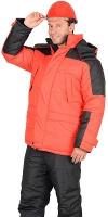 "куртка ""Стайл"" красная с чёрным"
