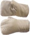 Рукавицы утеплённые (тк. х/б., ватин) с наладонником с ПВХ покрытием