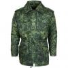Куртка зимняя м4 камуфлированная цифровая флора