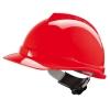 Каска ВИ-ГАРД с храповым механизмом цвет красный