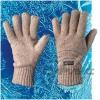 Перчатки шерстяные (шотландская шерсть) с утеплителем ТИНСУЛЕЙТ