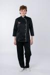 Куртка повара 0309 сженская чёрная