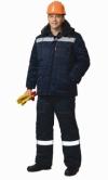 Зимний костюм ВЕКТОР куртка с полукомбинезоном