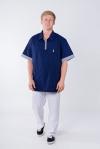 Куртка мужская 0180 синяя