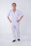 Куртка мужская белая 0173