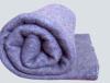 Одеяло 70%шерсти однотонное серое , плотн.320гр\м2